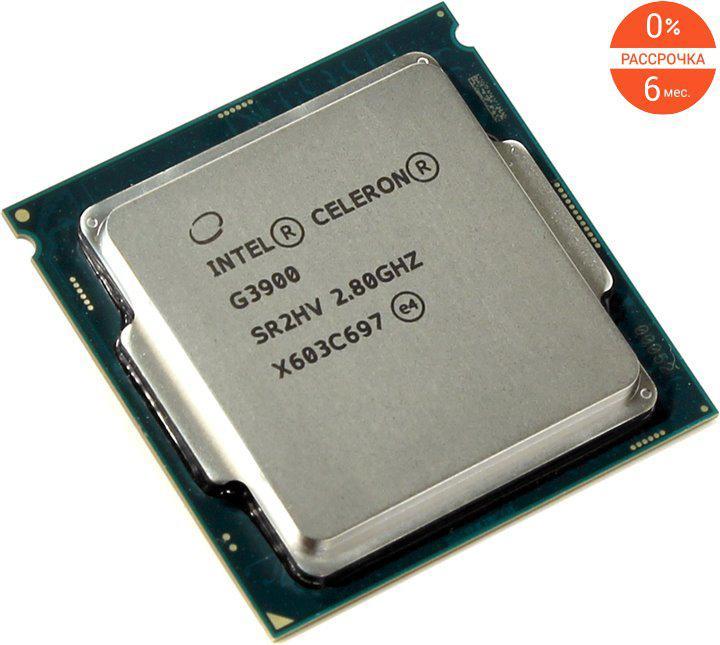 Процессор Intel Celeron G3900
