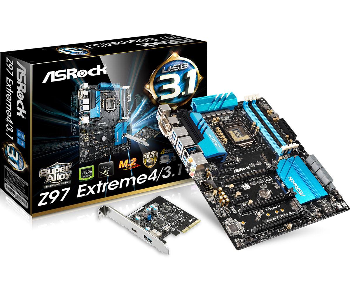 Материнская плата ASRock Z97 Extreme 4