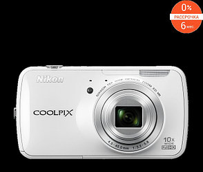 Фотоаппарат Nikon Coolpix S800c White