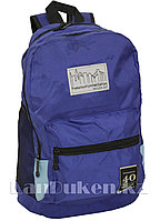 Универсальный школьный рюкзак Baileda Bag с 2 отделениями синий