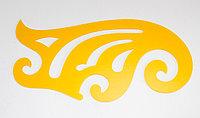 Лекало, многофункциональное, желтое, 27 см, фото 1