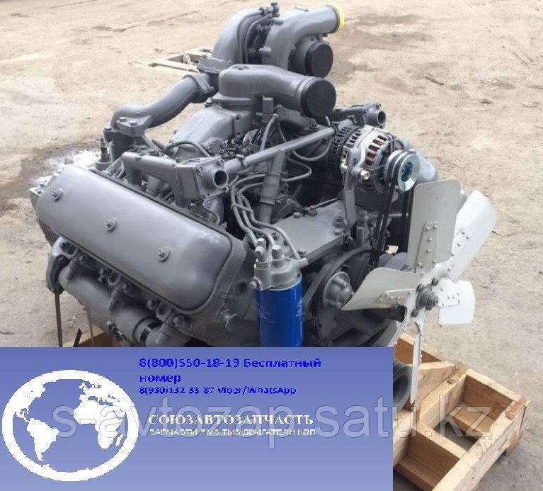 Двигатель (индивидуальной сборки) на блоке нового образца Вал 1 ремонта для двигателя ЯМЗ 236бе2-1000186