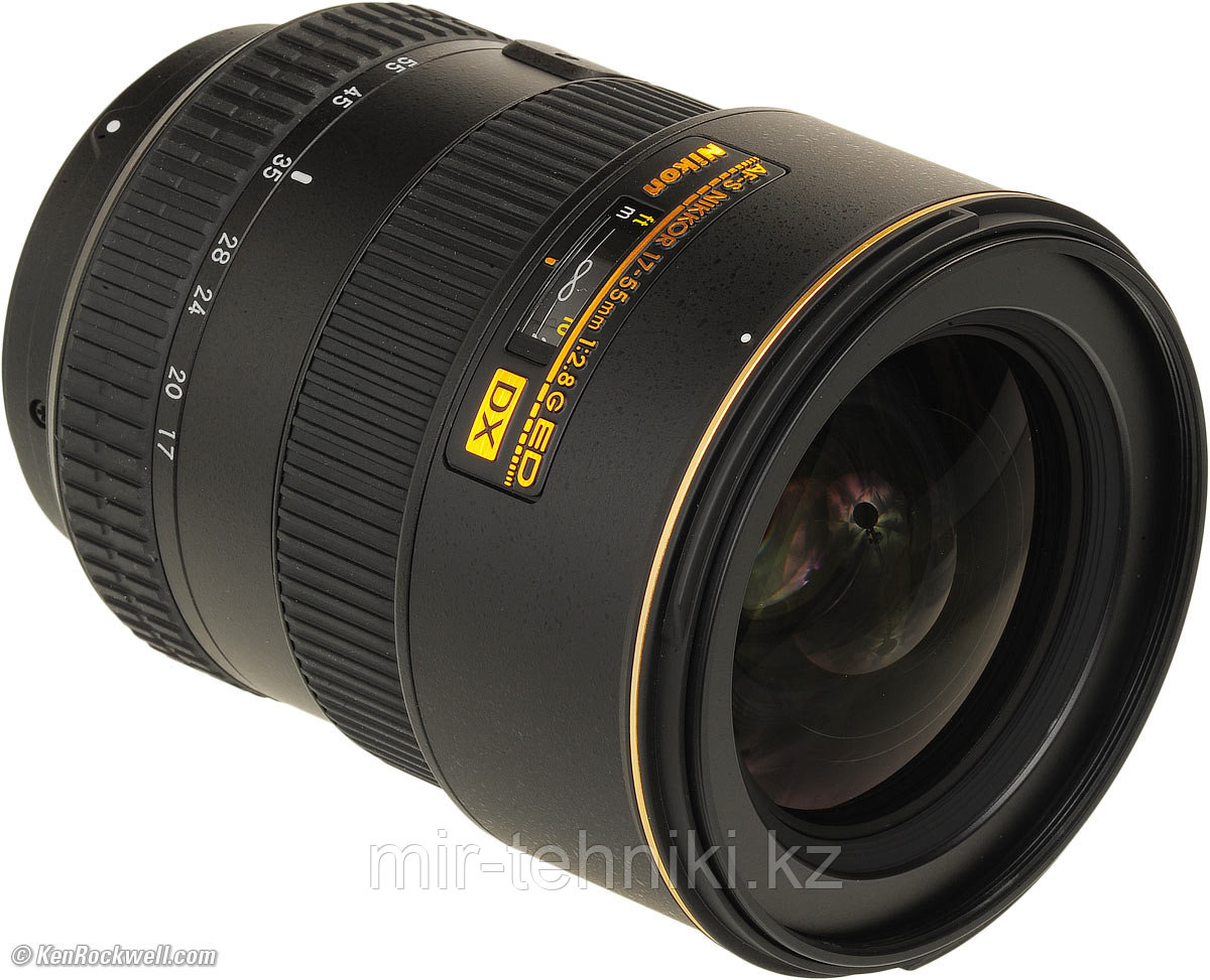 Объектив Nikon Nikkor F 17-55mm f 2,8 G ED-IF