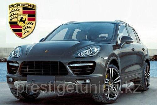 Родной обвес на Porsche Cayenne 958