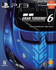 Gran Turismo 6 для PS3 Юбилейное издание BCES01893 (Нет в наличии)