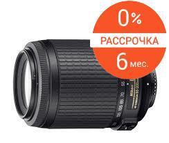 Объектив Nikon Nikkor lens AF-S DX VR Zoom 55-200mm