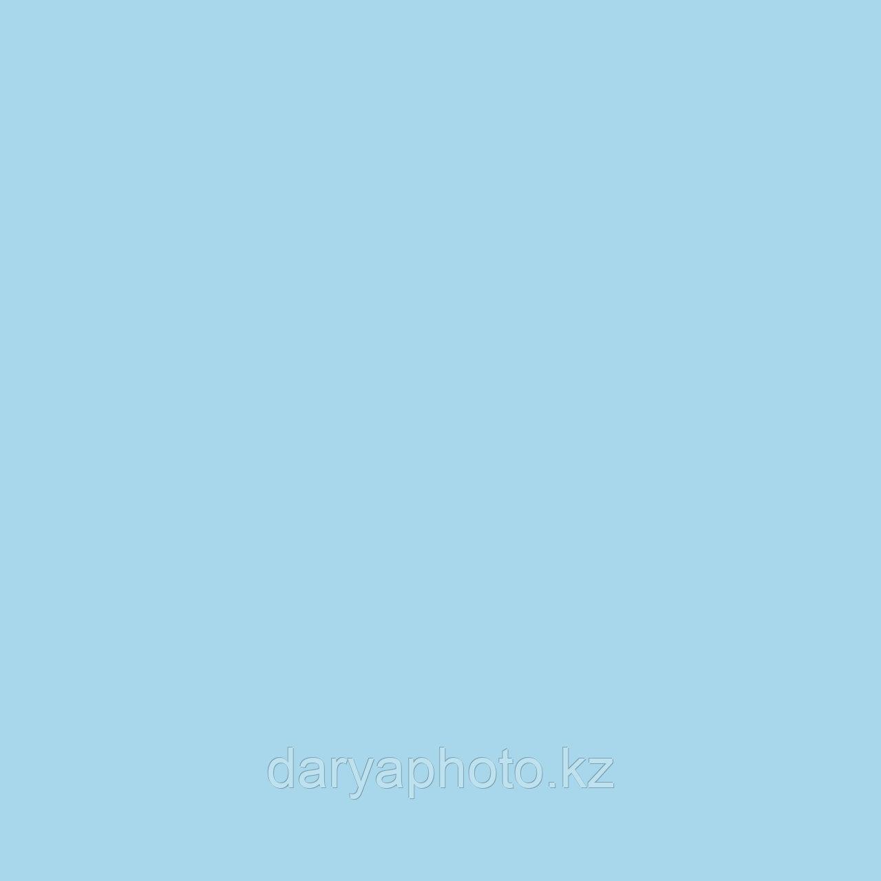 Голубой светлый Фон бумажный. Фотофон. Фон для фотостудии