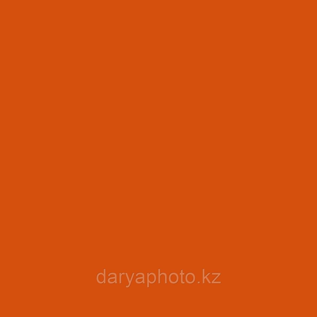 Оранжевый Фон бумажный. Фотофон. Фон для фотостудии