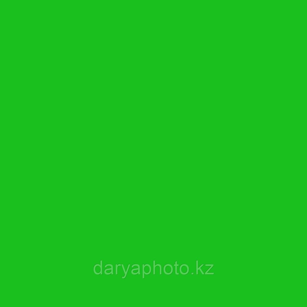 Зеленый яркий Фон бумажный. Фотофон. Фон для фотостудии