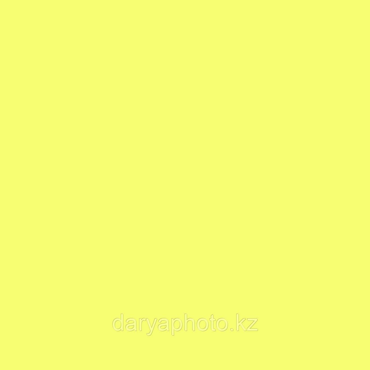 Желтый Фон бумажный. Фотофон. Фон для фотостудии