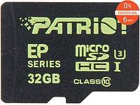 Карта памяти Patriot EP Series PEF32GEMCSHC10 32GB
