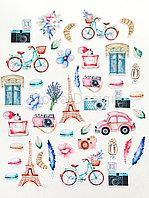 """Набор высечек """"Однажды в Париже"""""""