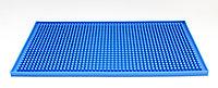 Барный коврик, синий, 30 см