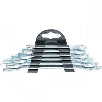 Набор ключей рожковых, 6 х 17 мм, 6 шт., хромированные// SPARTA