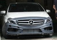 Обвес AMG 45 на Mercedes Benz A - class W176