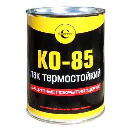 """Лак термостойкий """"Церта-Пласт"""" бесцветный полуглянцевый 0,8 кг"""