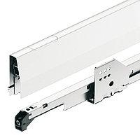 Комплект выдвижных ящиков Moovit MX 450 мм, белый металлик, фото 1