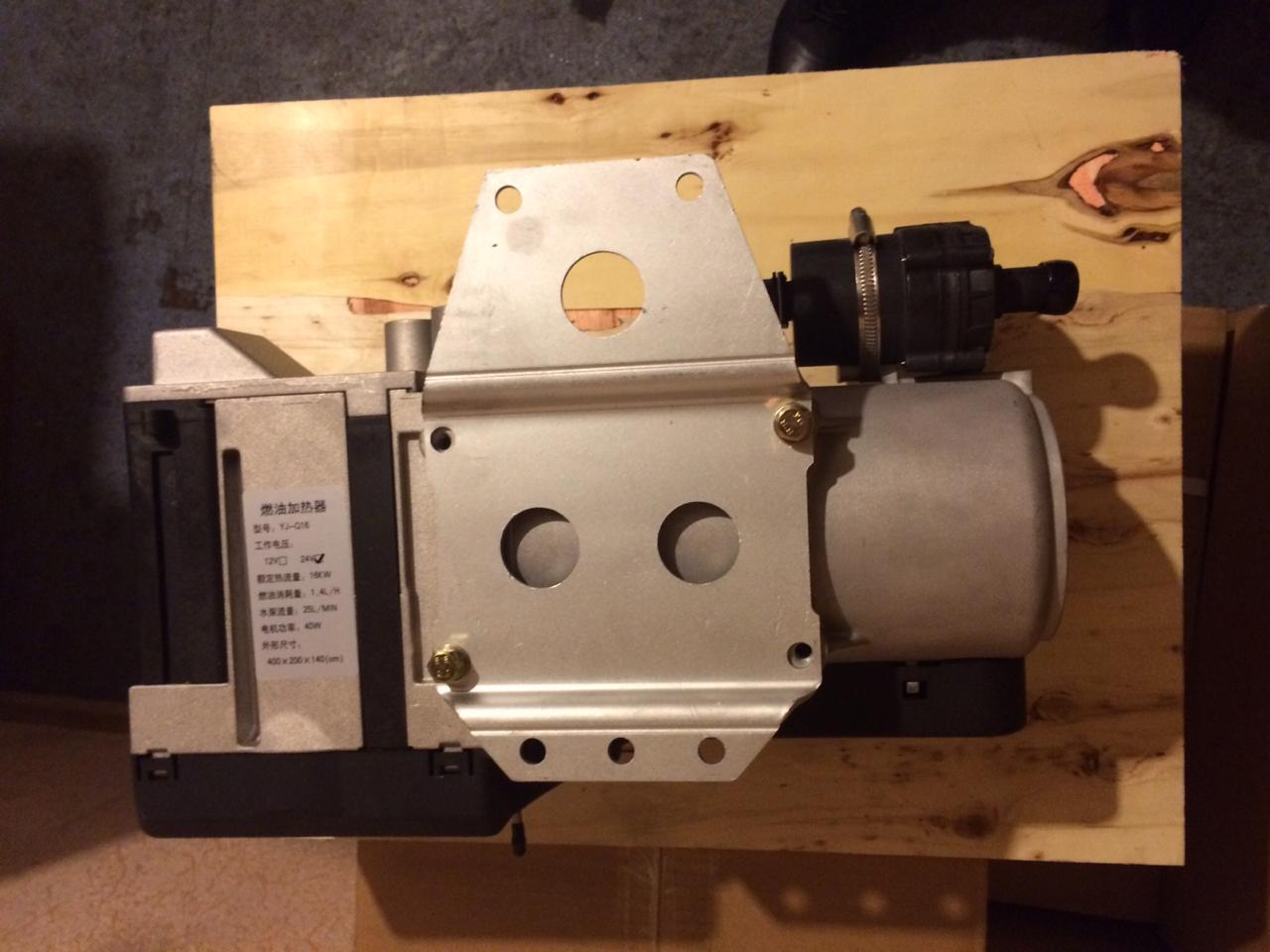Автономный предпусковой подогреватель двигателя 16Квт 24В в наличии