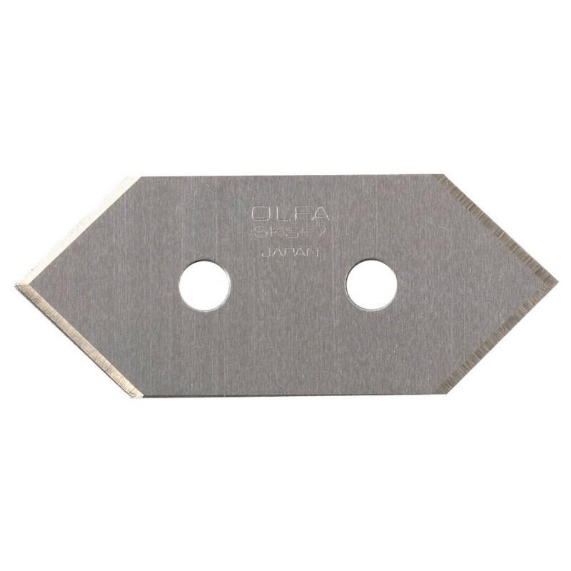 Сменное лезвие OLFA OL-MCB-1, для ножа OL-MC-45/2B, 20(14) х 49 х 0,3 мм,
