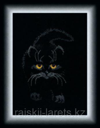 Набор для вышивания крестиком Чарiвна мить М-142 Черный кот