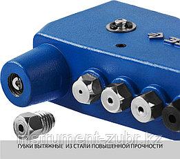 """Заклепочник, ЗУБР """"УНИВЕРСАЛ"""" 31196, для резьбовых (М3, М4, М5, М6), для вытяжных d=2,4-4,8 мм - Al, сталь; d=2,4-4,0 мм - нержсталь, фото 3"""
