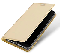 Кожаный чехол Open series на Xiaomi Redmi 6 Pro (золотистый)
