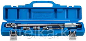"Ключ динамометрический, 1/2"", 42 - 210 Нм, с торцовыми головками 17, 19 мм и удлинителем 125мм, ЗУБР 64094-H4, фото 2"