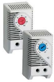 Термостат KTS 011 ТДВ-011 250В AC 10A синий