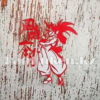 Наклейка на автомобиль самурай (китайские иероглифы)