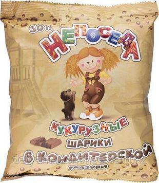 Кукурузные шарики в кондитерской глазури Непоседа без глютена, 50 г