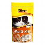 Gimpet Джимпет Мульти Кисс, Витамины для кошек , 50г (65шт).