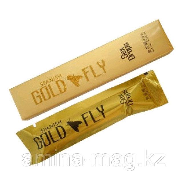 """Женский возбудитель """"Gold Fly"""" (Шпанская Мушка) 12 шт."""