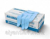 Перчатки нитриловые, смотровые, неопудренные, фото 2