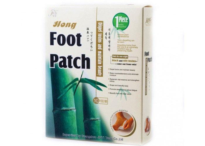 Пластырь Foot Patch на стопы для выведения токсинов.