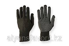 Перчатки нейлоновые трикотажные с ПВХ точками