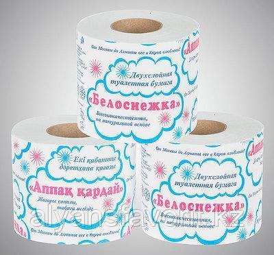 """Туалетная бумага """"Белоснежка"""" , 12 рул/уп"""