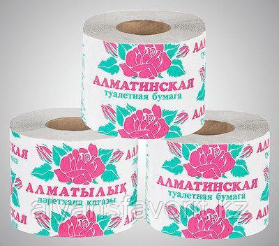 """Туалетная бумага """"Алматинская"""""""
