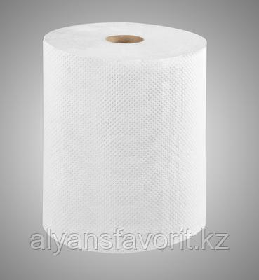 Бумажные полотенца рулонные (Казахстан), 23,3 см. 150 м. 6 рул/уп., макулатура