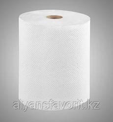Бумажные полотенца рулонные (Казахстан), 6 рул/уп., макулатура