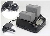 Зарядное устройство AC-VQ1051С (двойное) для Sony NP-F970, фото 1
