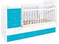 Кровать-трансформер детская Bambini M 01 10 01, цвет в ассортименте