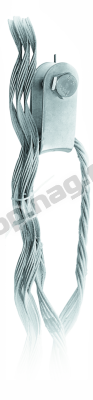 Зажим натяжной спиральный SNR-НСО-15-13/13,7П