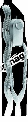 Зажим натяжной спиральный SNR-НСО-12-13,5/14,5П