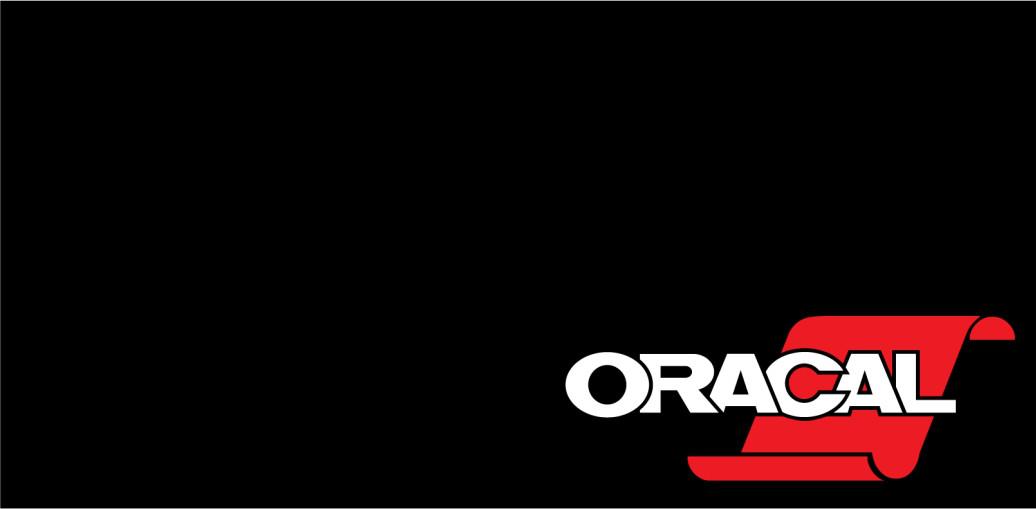 Плёнка ORACAL Черный глянцевый (1мХ50м) F070