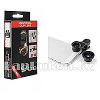 Объектив для телефона Universal Clip Lens 2 в 1