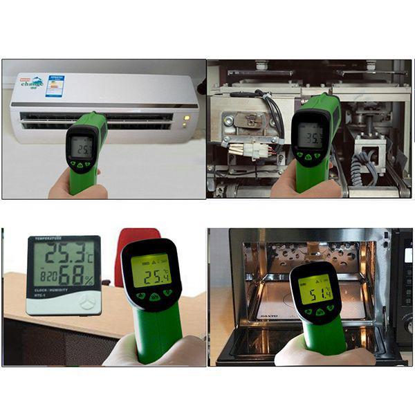 FLANK F380 Цифровой бесконтактный инфракрасный термометр