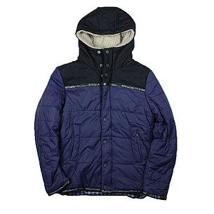 Зимние куртка Scoth & Soda синяя, фото 2