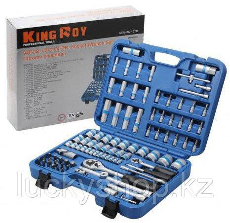 Набор инструментов King Roy 6-ти гранный, фото 2