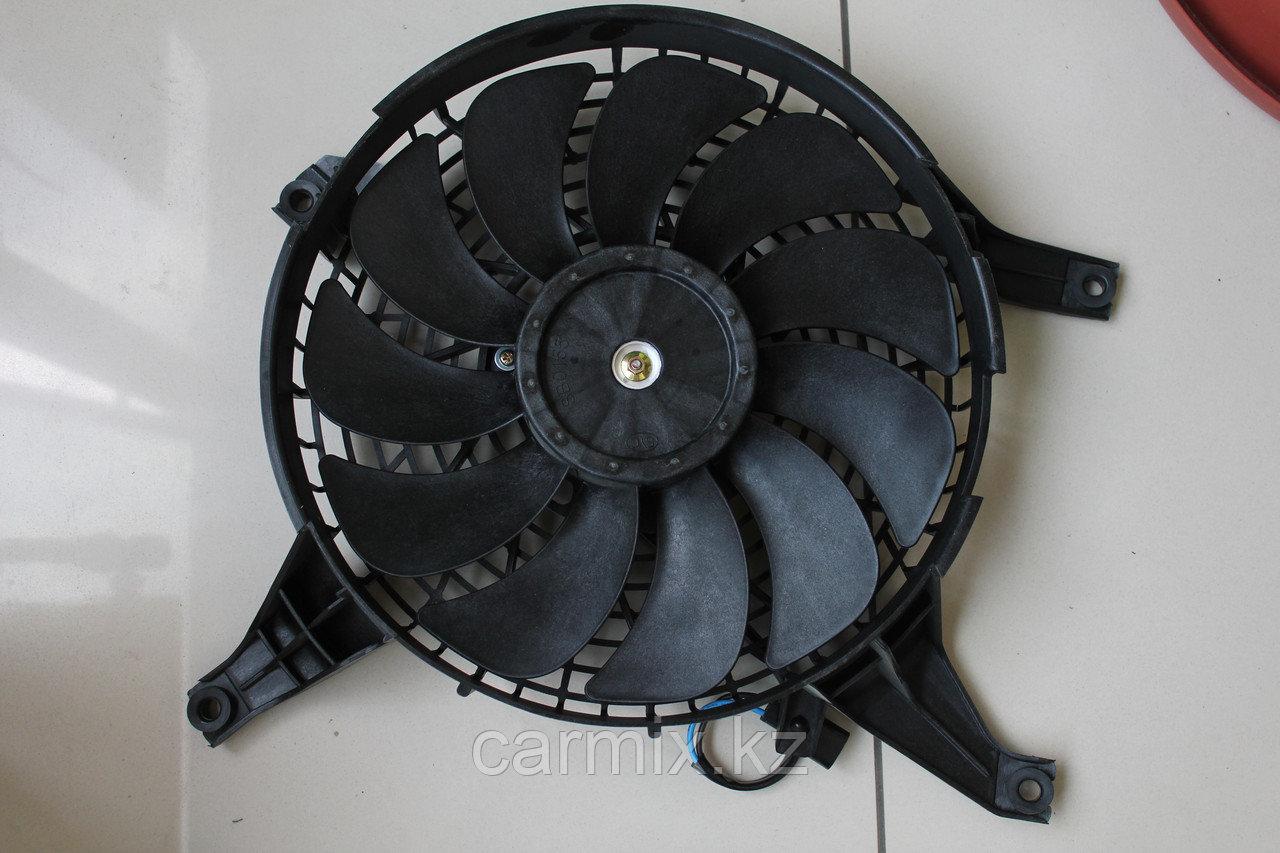 Диффузор радиатора кондиционера в сборе с крыльчаткой MITSUBISHI PAJERO V75W, V93W, V95W, V97W