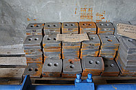 Броня и лопатки для мешалки на АБЗ